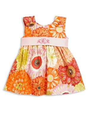 Baby's Dahlia Personalized Dress