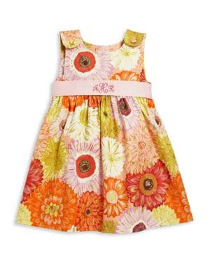 Toddler Girl's Dahlia Personalized Dress