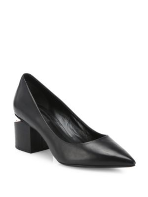 Simona Leather Pumps