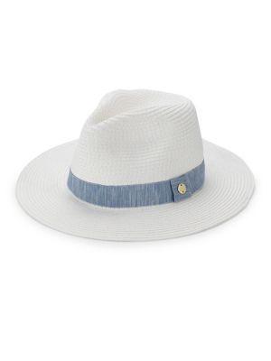 Raffia Fedora Hat