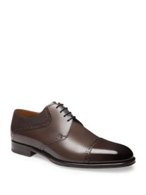 Brisco Calf Leather Derby Shoes