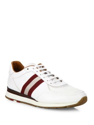 Aston Leather Low-Top Sneakers
