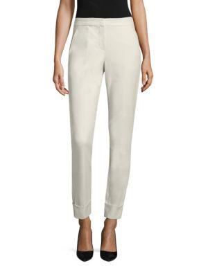 Tech Stretch Cotton Pants by Armani Collezioni