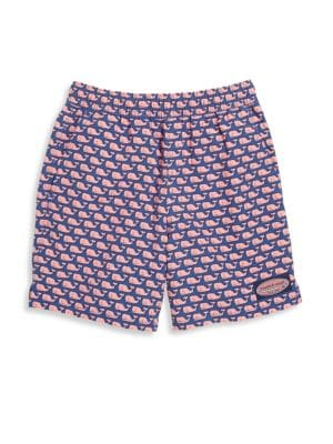 Toddler's, Little Boy's & Boy's Whale Print Shorts