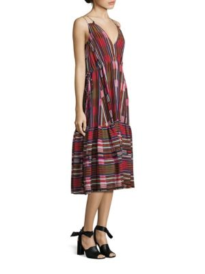 Daphne Silk Midi Dress