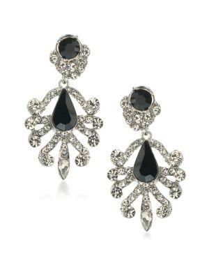 Set In Stone Crystal Chandelier Earrings