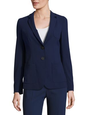 Textured Two Button Jacket
