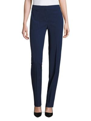 Solid Wool Pants by Armani Collezioni