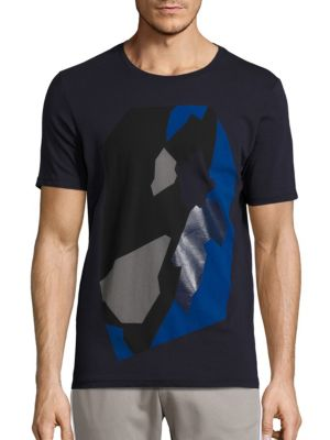 Abstract Printed T-Shirt