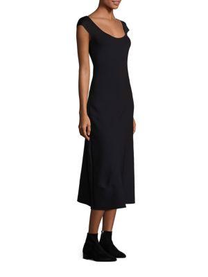 Rhode Scuba A-Line Dress