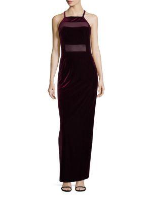 Shalom Velvet Gown