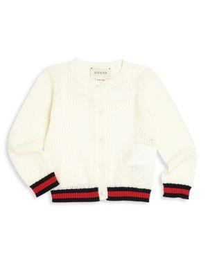 gucci baby babys and toddlers merino wool cardigan