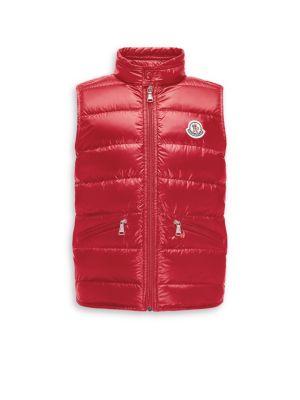 Toddler's, Little Boy's & Boy's Gui Down Puffer Vest