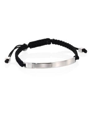 Macramé Sterling Silver Bracelet