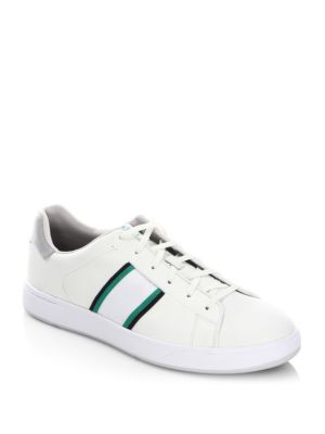 Lawn Leather Low-Top Sneakers