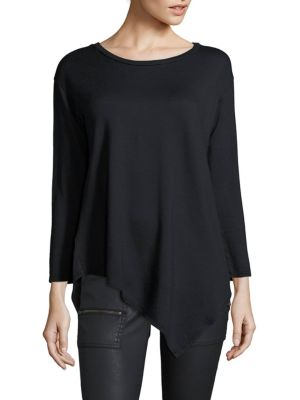 Soft Joie Tammy Asymmetrical Long Sleeve Top by Joie