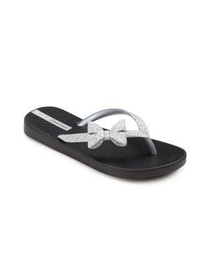 Kid's Glitter Bow Tie Sandals