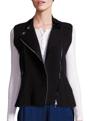 Knit Moto Vest by 3.1 Phillip Lim