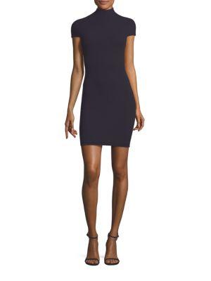 Alana Crepe Mini Dress