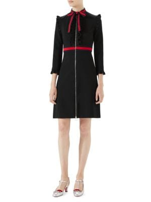 gucci female viscose jersey dress