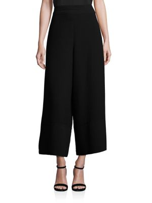 Textured Jacquard Culottes