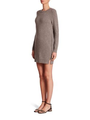 marc jacobs female side zip sweater dress