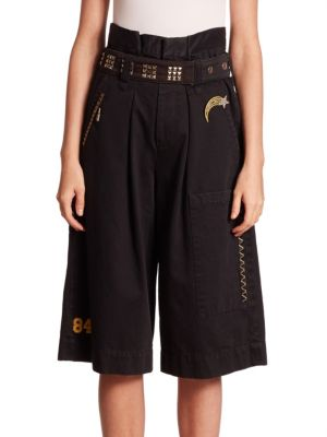 marc jacobs female long cargo shorts