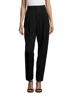 marc jacobs female wool twill tuxedo pants