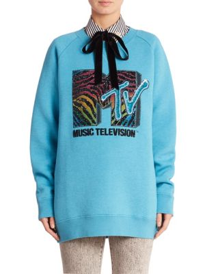 marc jacobs female mtv sweatshirt