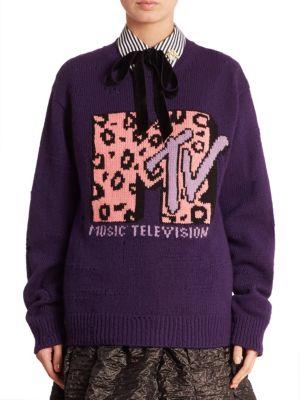 marc jacobs female mtv sweatshirt