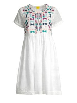 Sylvie Embroidered Dress