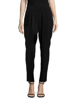 Tolia Crepe Tapered Pants by BOSS