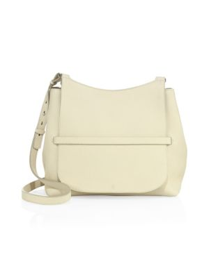 Sideby Pebbled Leather Crossbody Bag