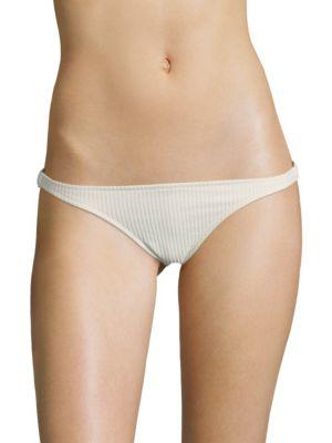 Glimmer Ribbed Bikini Bottom