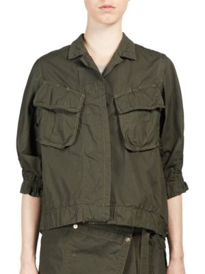 Overdyed Cargo Pocket Shirt