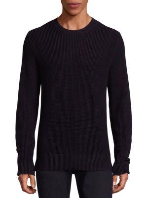 Textured Italian Cotton Sweater