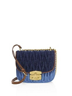Miu Miu Denim Bags