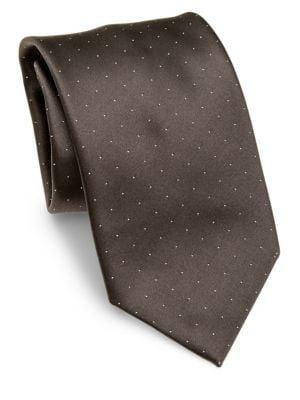 Micro Dots Silk Tie