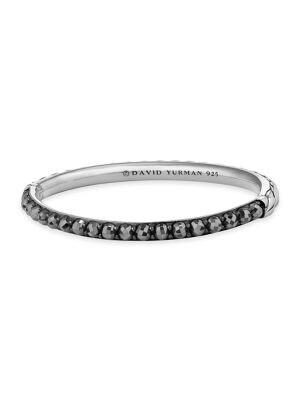 Osetra Bangle Bracelet with Hematite