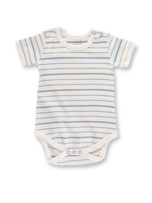 Baby's Organic Cotton Striped Bodysuit