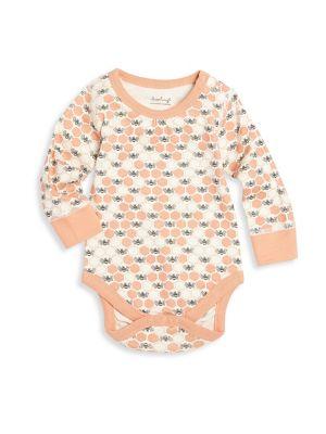 Baby's Honeybee Printed Organic Cotton Onesie