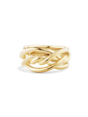 Continuance Ring in 18K Gold