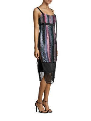 Gia Printed Silk Dress
