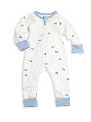 Baby's Paper Rocket Organic Cotton Coverall