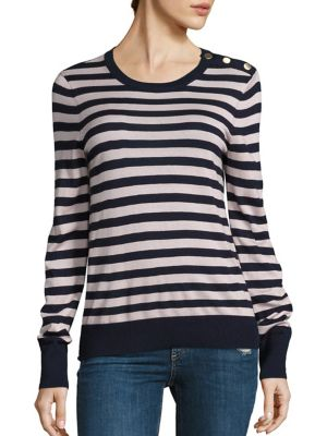Ondine Preppy Stripe Sweater