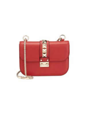 Rocklock Small Leather Crossbody Bag