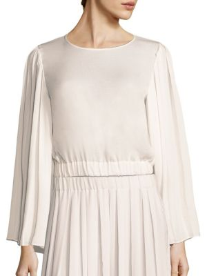 Ava Pleated Sleeve Top by Elizabeth and James