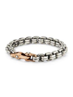 Anvil Chain Bracelet