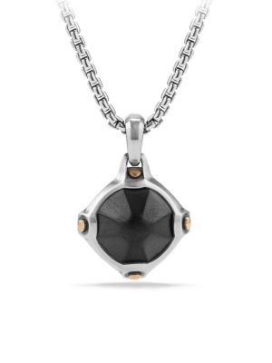 Anvil Faceted Hematine Amulet