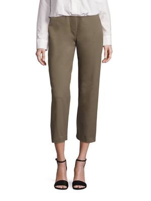 Cotton High Waist Culottes